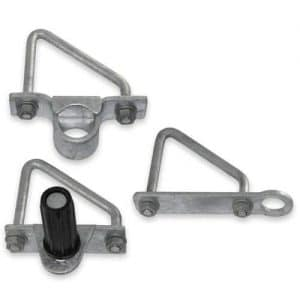 Bolt-On Adjustable Angle Post Gate Kit