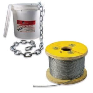 Steel Wire and Chain